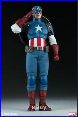 Captain America Marvel Comics 16 Scale Sideshow 12 Figure SID100171