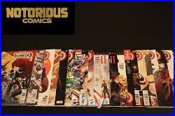 Captain America Sam Wilson 1-25 Complete Comic Lot Run Set Marvel Collection
