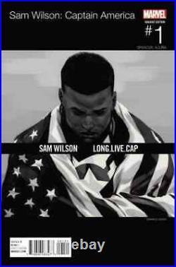 Captain America Sam Wilson 1 Asrar Hip Hop Variant Nm