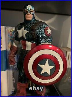 Captain America Ultimate Avengers Variant Statue Bowen Marvel Comics SHIELD