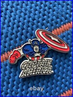 Captain America Vintage 1979 Magnet Mego Comic Book Action Figure Marvel Avenger