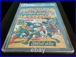 Captain America and the Falcon Vol 1 #166 (Marvel Comics 1973) CGC 9.0 White pgs