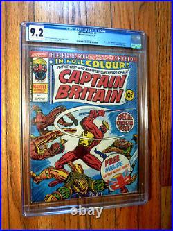 Captain Britain #1 CGC 9.2 1st App
