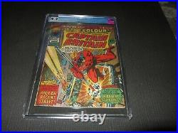 Captain Britain 8 CGC 9.2 NM-, 1st Betsy Braddock (Psylocke) Marvel 1976 (MC)