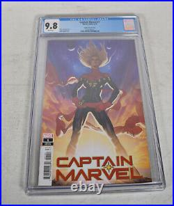 Captain Marvel 1 2019 CGC 9.8 125 Adam Hughes Variant