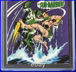 Captain Marvel #4 (Marvel 1968) CGC 9.8 HIGHEST GRADED 1 of 5! Comic