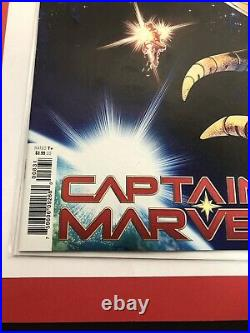 Captain Marvel #8 125 Variant 1st Appearance Star NM