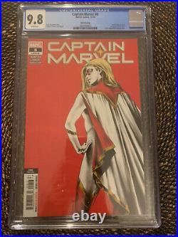 Captain Marvel #8 (2020) CGC 9.8 Third Print 1st App Star Low Print Run