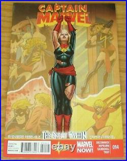 Captain Marvel (8th Series) #14 VF Marvel save on shipping details inside