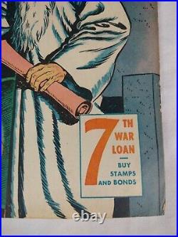Captain Marvel Adventures #47 (1945 Fawcett) WWII Golden Age Comic Book RARE 6.5