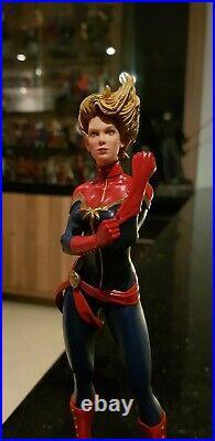 Captain Marvel Authentic Iron Studios Marvel Comics Art Scale 1/10