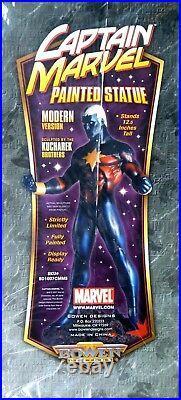 Captain Marvel Modern Variant Statue New Bowen Marvel Comics Amricons