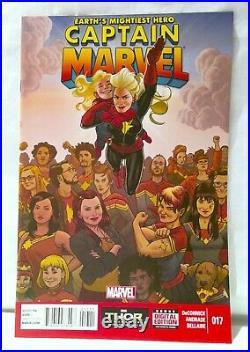 Captain Marvel (Vol 7) #17 NM- 1st Print Marvel Comics 2014 1st Kamala Khan CC