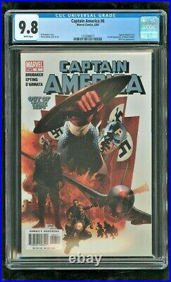 Cgc 9.8 Captain America #6 Marvel Comics 2005 1st Appearance Of Winter Soldier
