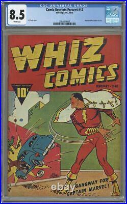 Don Maris REPRINT Whiz Comics #1 cgc 8.5 (2) (1940/1975) 1st app Captain Marvel