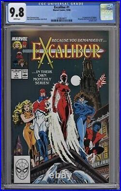 Excalibur #1 CGC 9.8 NM/MT Wp 1st Widget App Marvel Comics 1988 Captain Britain