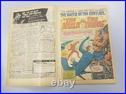Fantastic Four #25, 1st Hulk vs. Thing! 2nd Silver age App. Captain America 1964