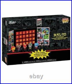 Funko Marvel Pocket Pop Adventskalender mit 24 Pop! Figuren Iron Man Captain NEU