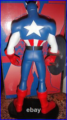 HARD Hero X-MEN Evolution CAPTAIN AMERICA MAQUETTE STATUE MARVEL Avengers Bust