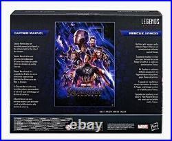 Hasbro Marvel Legends CAPTAIN MARVEL & RESCUE ARMOR Infinity Saga MISB In Hand