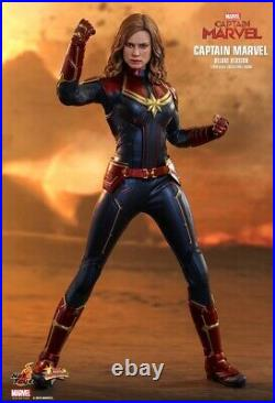Hot Toys Captain Marvel Deluxe Version 1/6 Scale 12 inch Action Figure MMS522