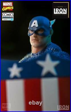 Iron Studios Captain America Art Scale 1/10 EXclusive Marvel Comics Série 4