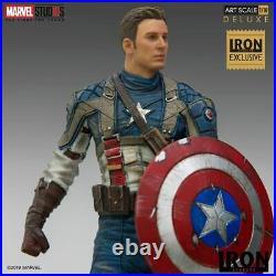 Iron Studios Captain America First Avenger 110 Figure Marvel MCU CCXP Statue