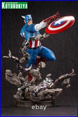 Kotobukiya Marvel Comics Captain America Fine Art Statue Brand New and In Stock
