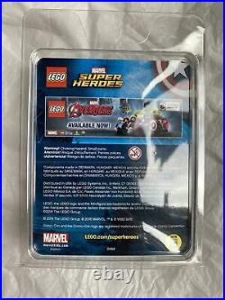 LEGO MARVEL CAPTAIN AMERICA STEVE ROGERS MINI FIGURE 2016 SDCC SD Comic Con RARE