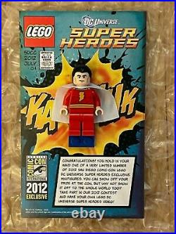 LEGO SDCC 2012 Shazam Exclusive Minifigure Comic-Con Captain Marvel Emp. Coll