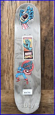 MARVEL COMICS CAPTAIN AMERICA, SANTA CRUZ Skate Board Deck, Limited