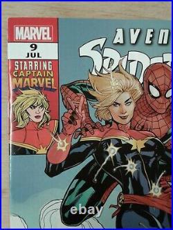 MARVEL Comics Avenging Spider-Man 9 Carol Danvers 1st Captain Marvel 2012