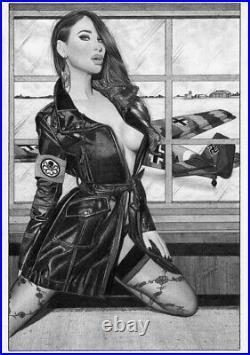 MARVEL Comics MADAME HYDRA VIPER Original Art NICK FURY SHIELD CAPTAIN AMERICA 1