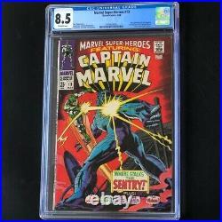 MARVEL SUPER-HEROES #13 (1968) CGC 8.5 1ST CAROL DANVERS Captain Marvel
