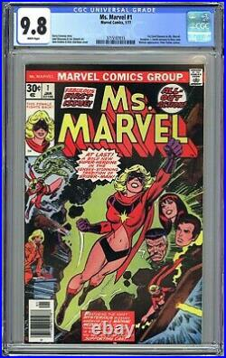 MS MARVEL #1 CGC 9.8 NM/MT WHITE Pages Carol Danvers/Captain Marvel