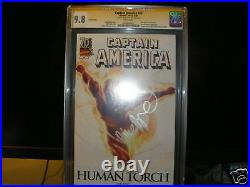 Marvel 70th Cgc Ss 9.8 Marko Djurdjevic 1 Wolverine #73 Captain America #43 601