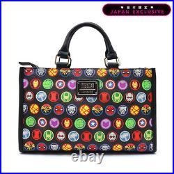 Marvel Avengers Handbag Loungefly Limited Japan Spiderman Captain America