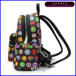 Marvel Avengers Mini Backpack Loungefly Limited Japan Spiderman Captain America