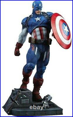 Marvel Captain America 21-Inch Premium Format Statue
