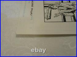 Marvel Captain America Issue #40 Page 4 Original Comic Book Art by Bob Layton