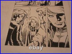 Marvel Captain America Issue #40 Page 7 Original Comic Book Art by Bob Layton