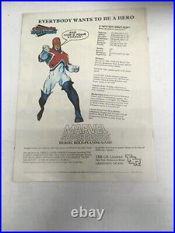 Marvel Captain Britain 13 Comic