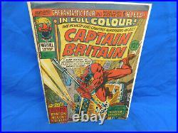Marvel Captain Britain #8 1976 1st Appearance Of Elizabeth Braddock (Psylocke)