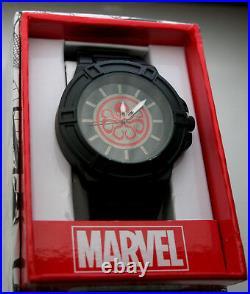 Marvel Comics Captain America Hydra Winter Soldier Black Watch Men's New NOS Box