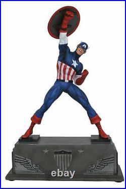 Marvel Comics Captain America Premier Collection Statue JUN172632 Limited