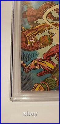 Marvel Comics Captain Britain 1 CGC 9.0 SS 1976