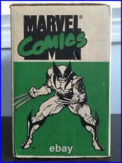 Marvel Comics Storage Box Vtg 1990 90s Hulk Spider-man Wolverine Captain America