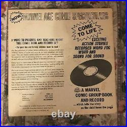 Marvel Golden Record The Avengers #4 LP Comic 1966 Captain America 1st Silver Ap