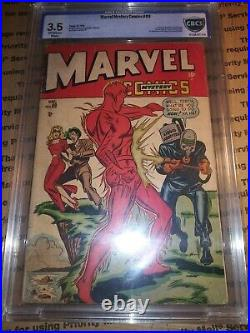 Marvel Mystery Comics #89 CBCS 3.5 Classic Timely Torch Captain America