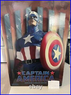 Marvel Sideshow Original 14 Captain America Premium Format statue 641/1100